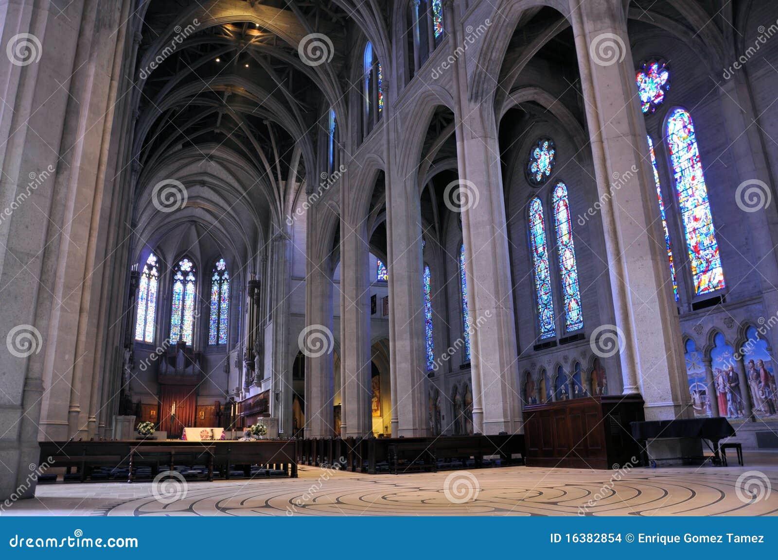 De Kathedraal San Francisco van de gunst
