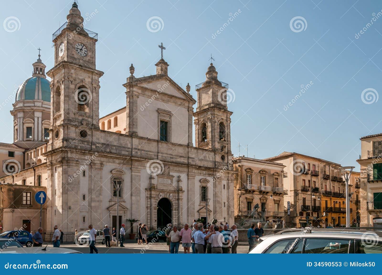 De Kathedraal van Caltanissetta