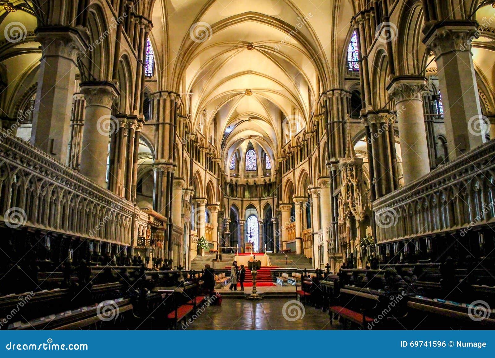 De Kathedraal van Canterbury, Kent, het Verenigd Koninkrijk