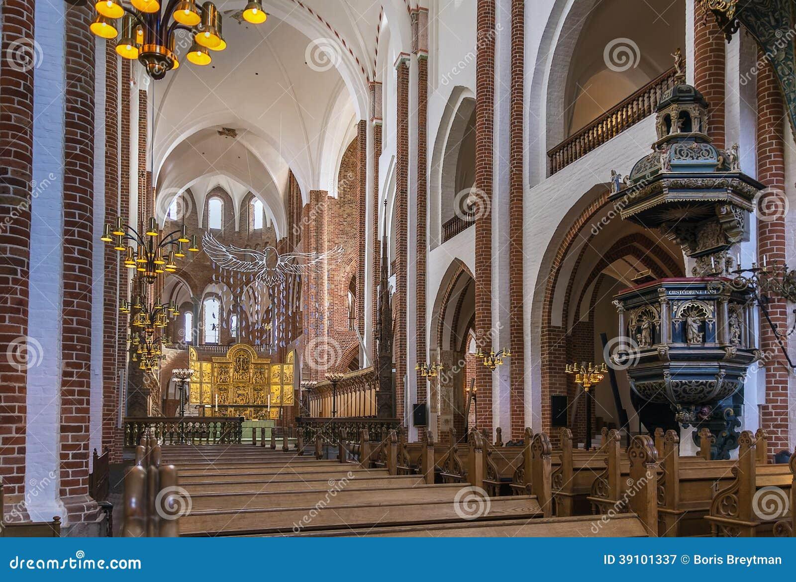 De Kathedraal van Roskilde, Denemarken
