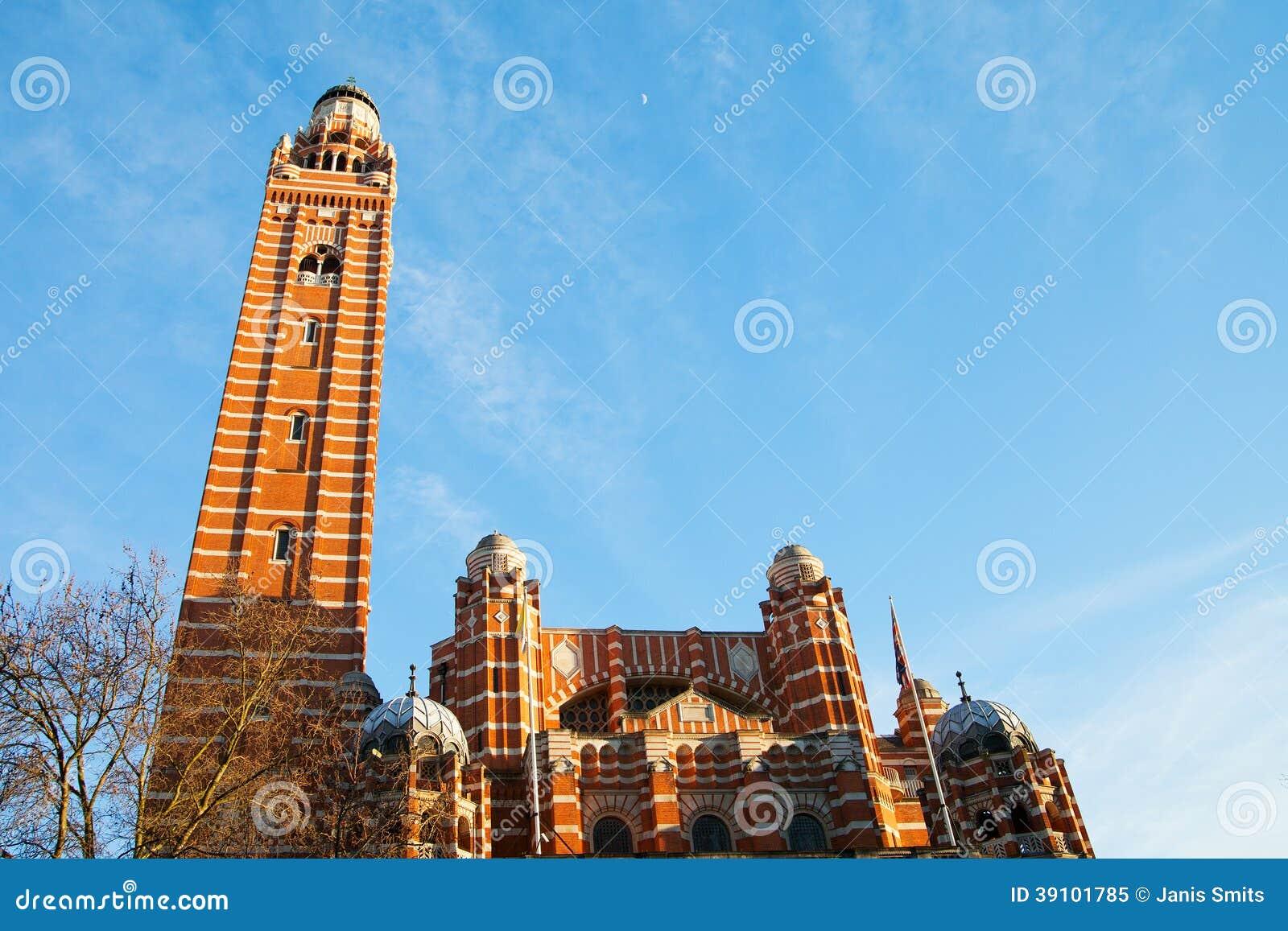 De kathedraal van Westminster, Londen.