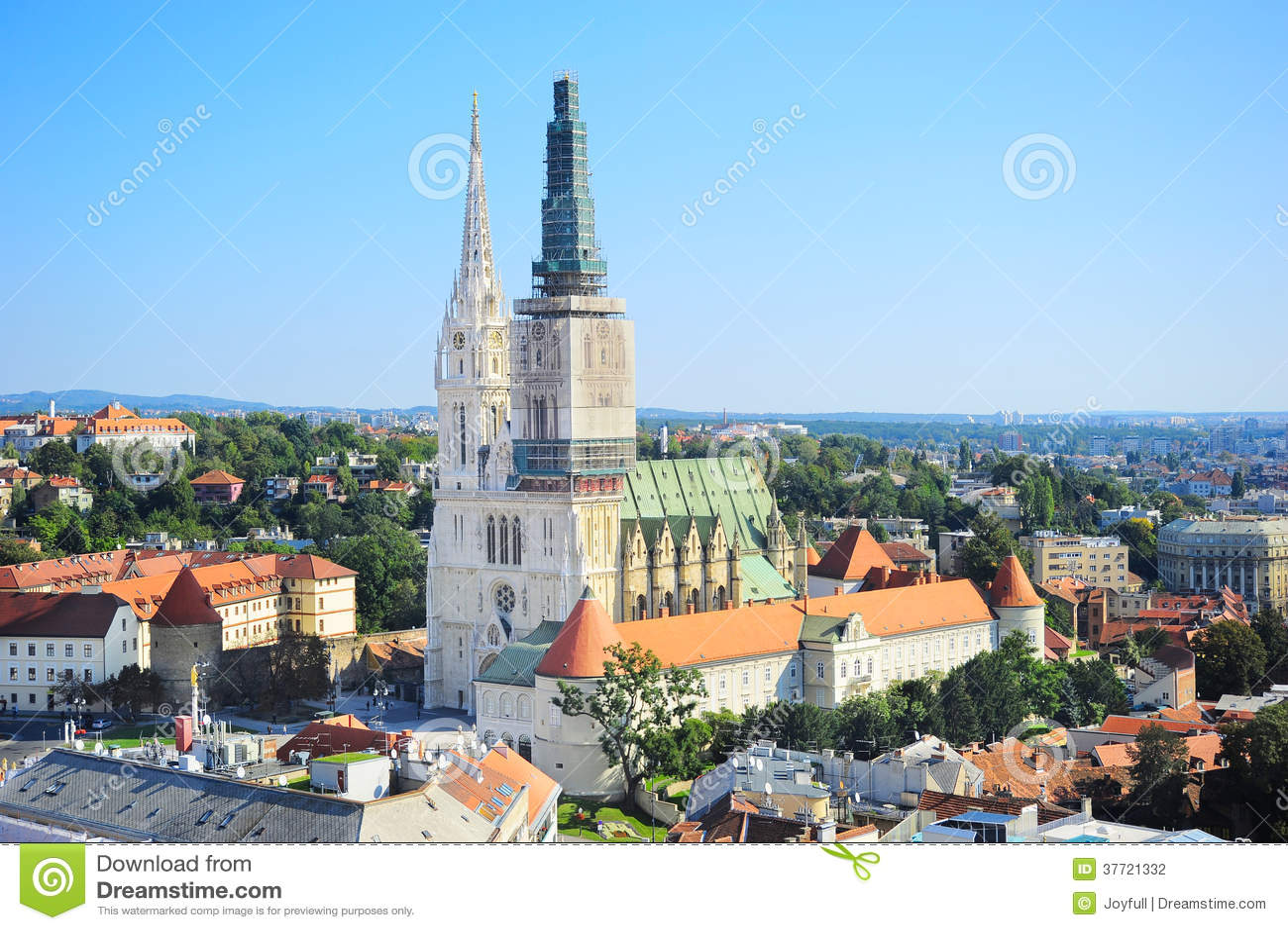 De Kathedraal van Zagreb