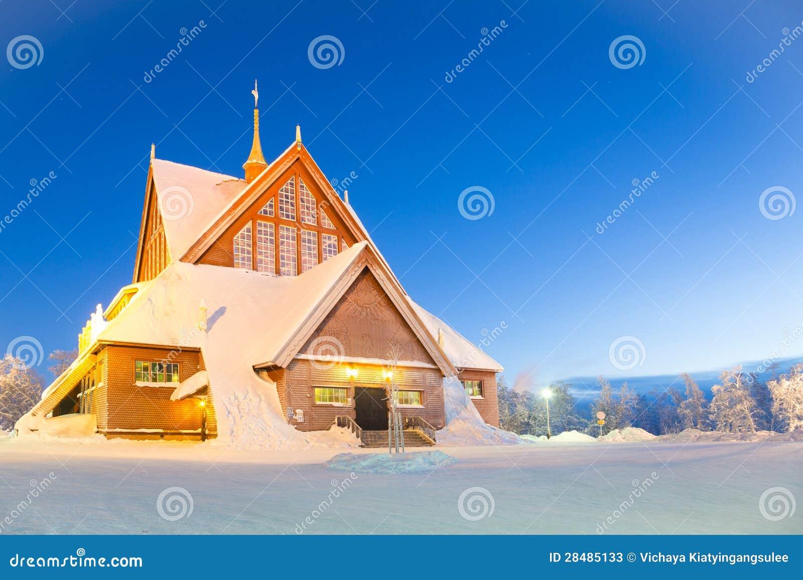 De kathedraal Zweden van Kiruna