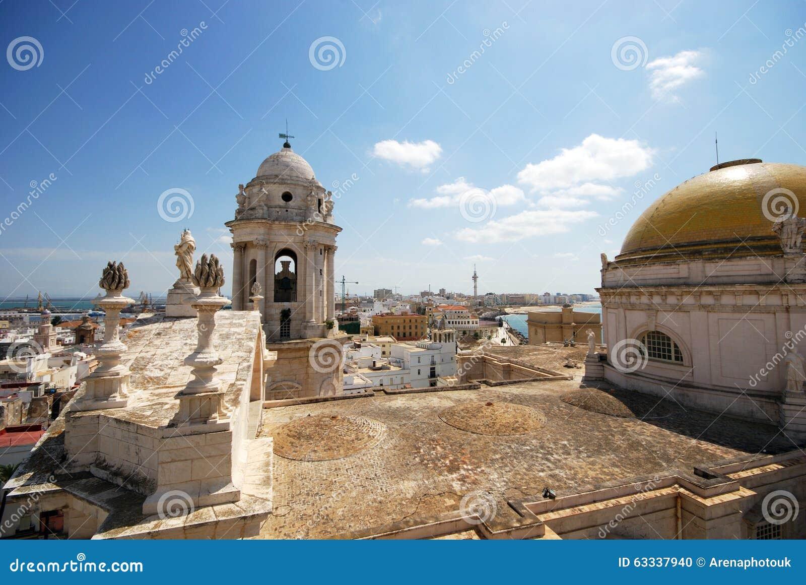 De Kathedraaldak van Cadiz
