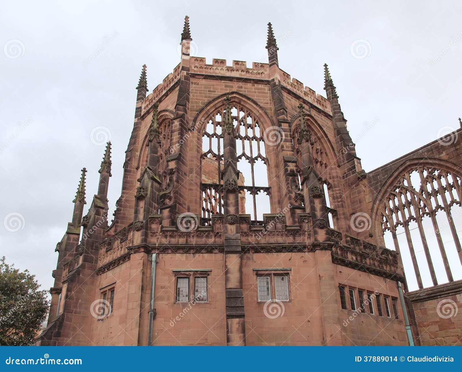 De Kathedraalruïnes van Coventry