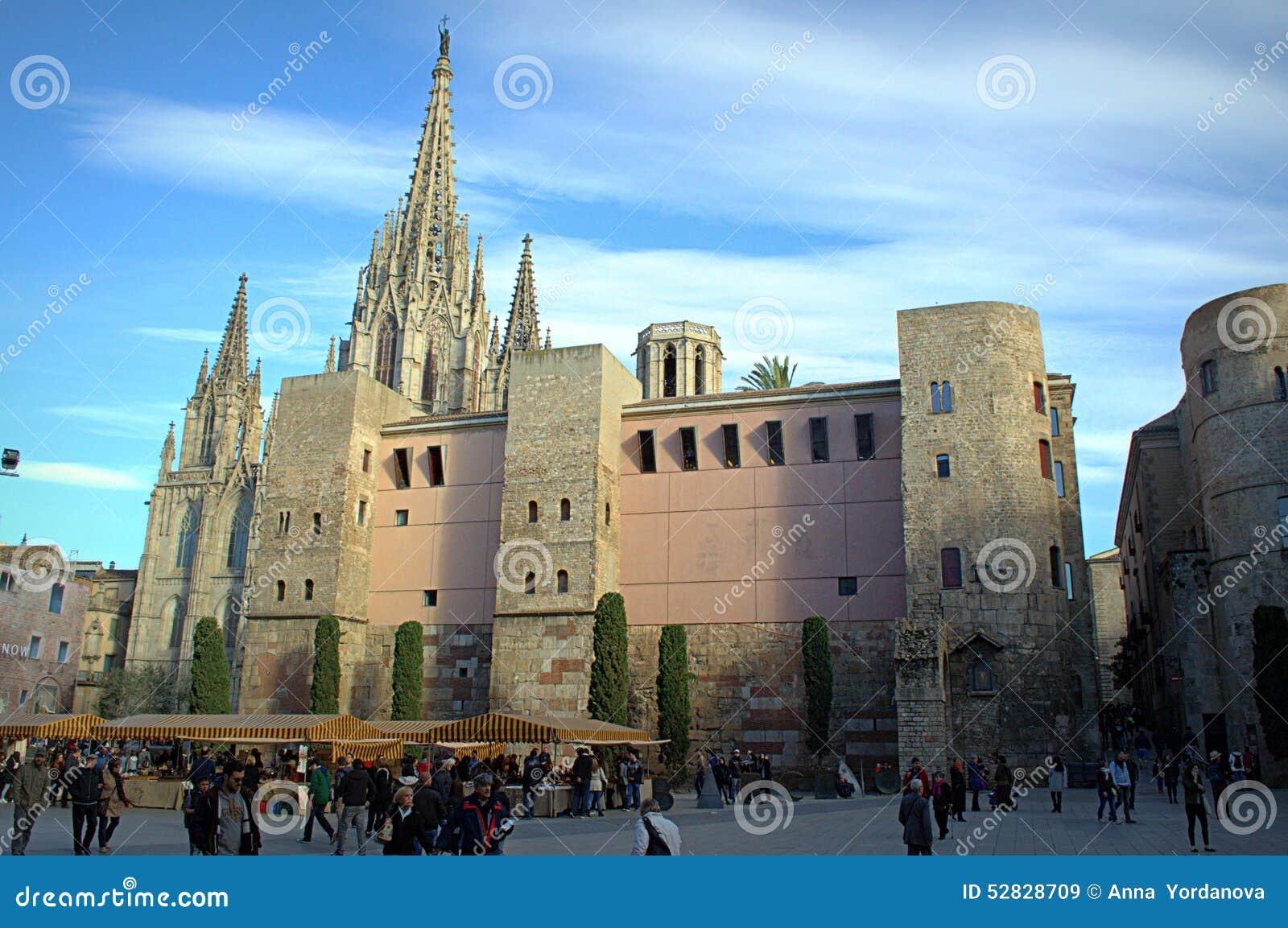 De Kathedraalvierkant van Barcelona