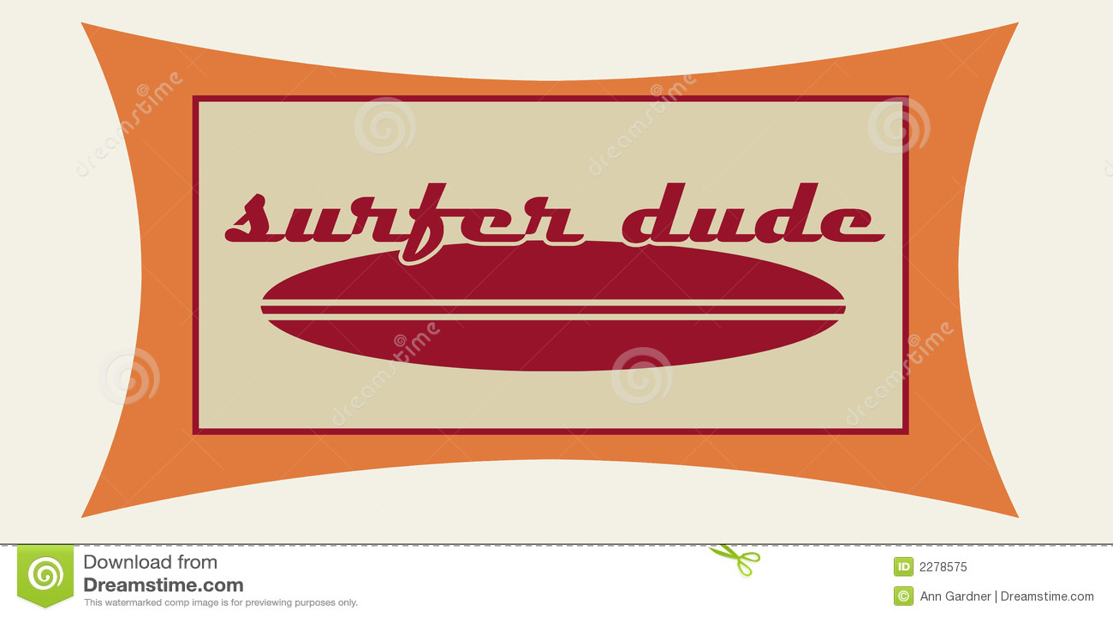 De kerel van Surfer