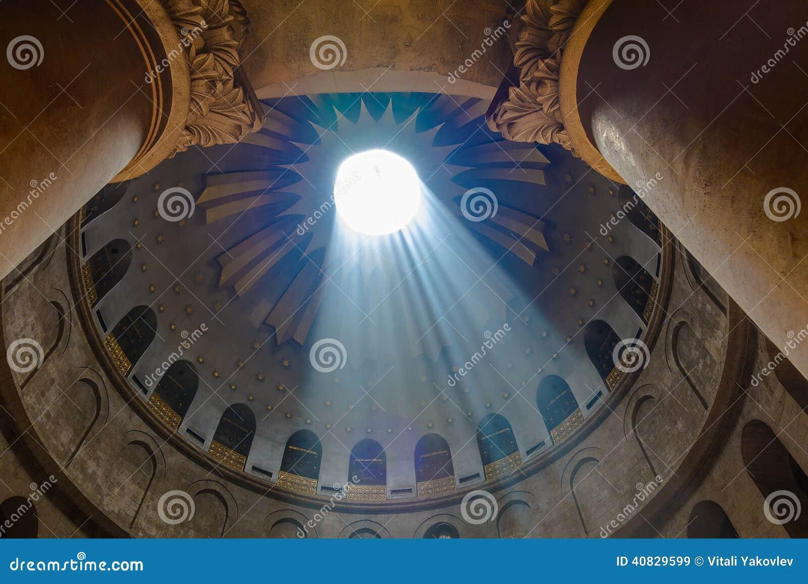 De kerk van heilig begraaft jeruzalem israël