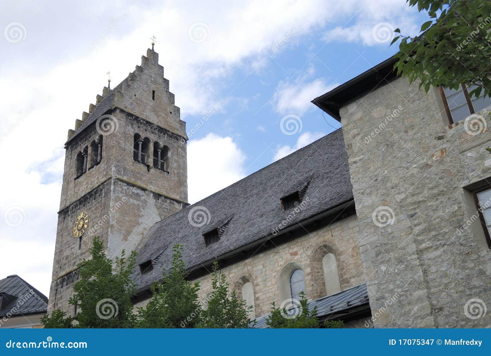 De kerk van Medieaval