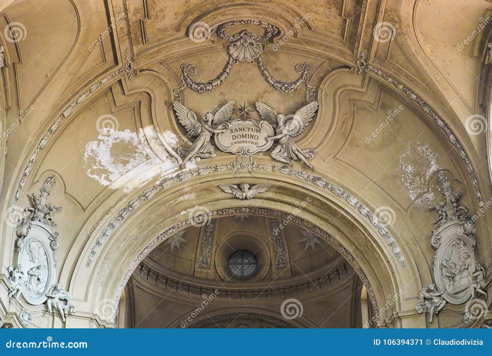 De kerk van San Filippo Neri in Turijn
