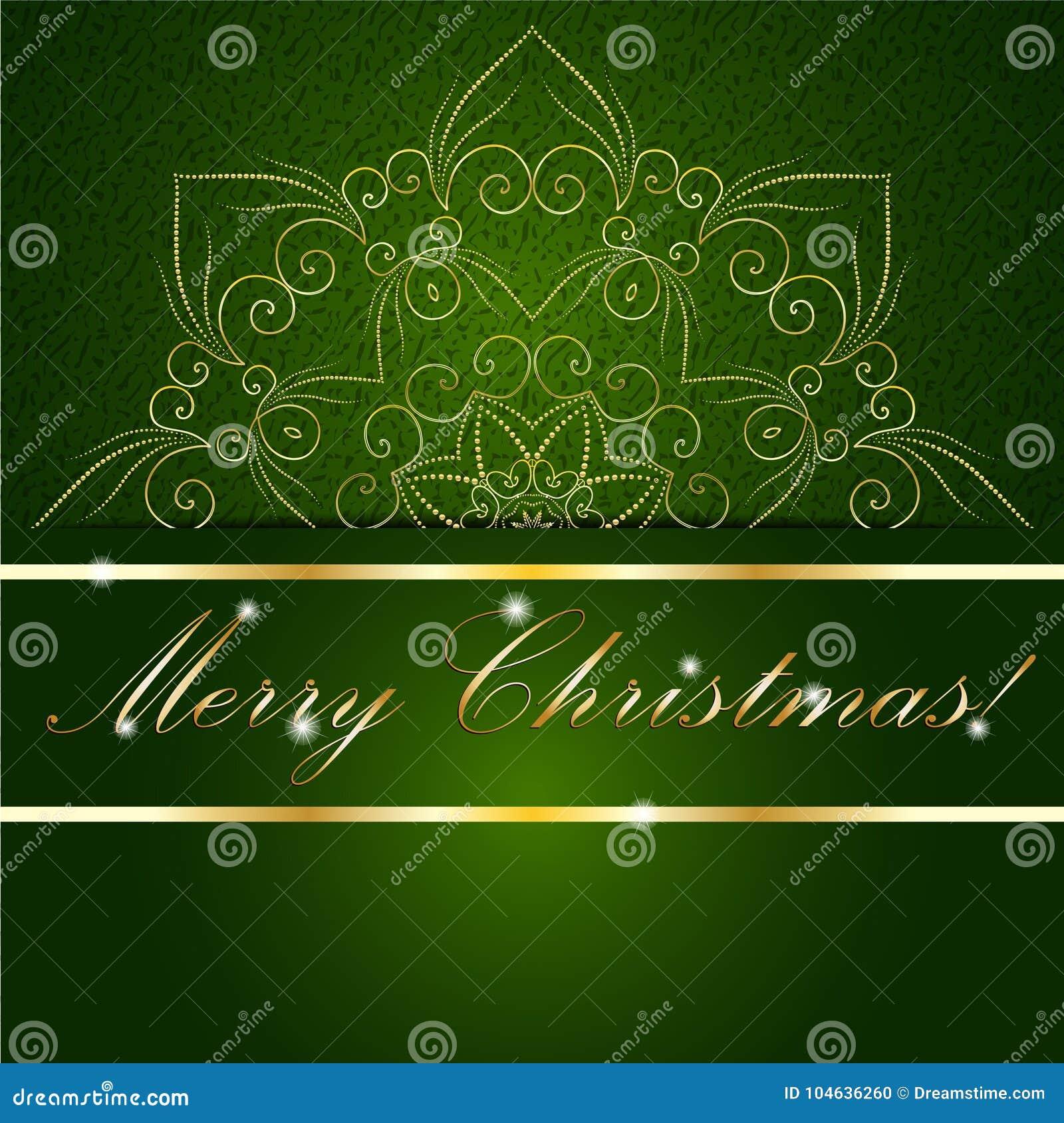 Download De Kerstkaart Kan Voor Websitedecoratie Worden Gebruikt Vector Illustratie - Illustratie bestaande uit datum, samenvatting: 104636260