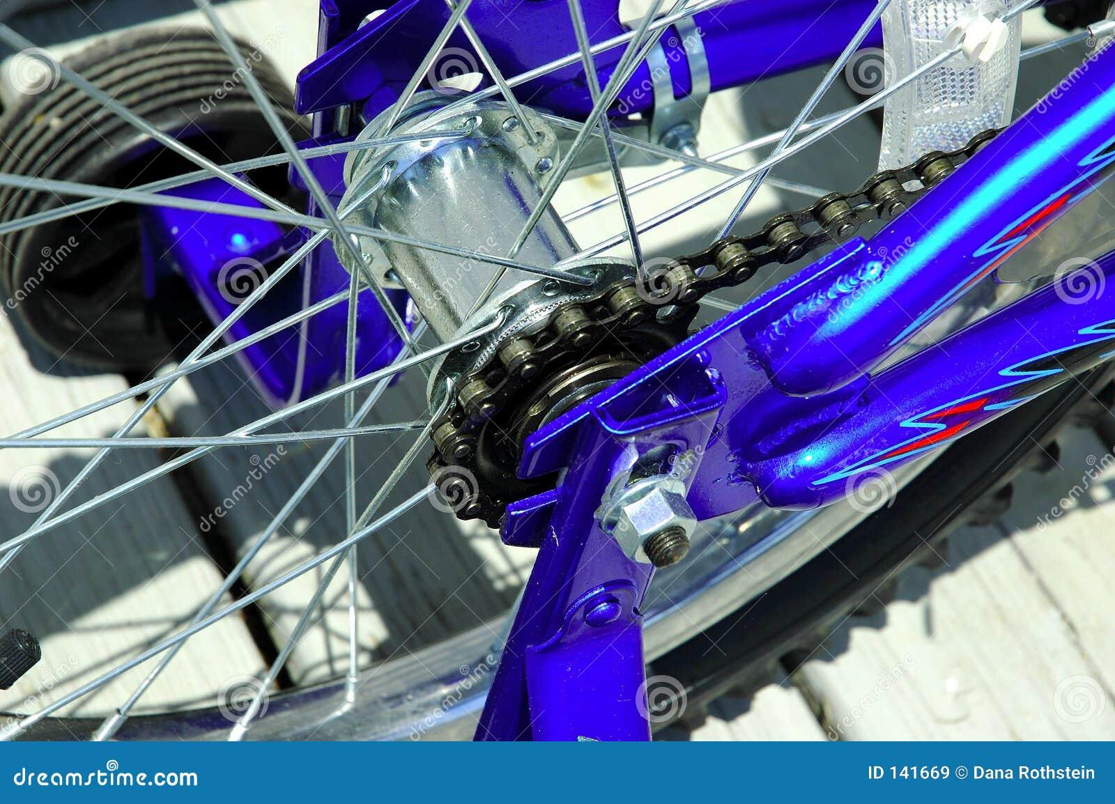 De Ketting van de fiets