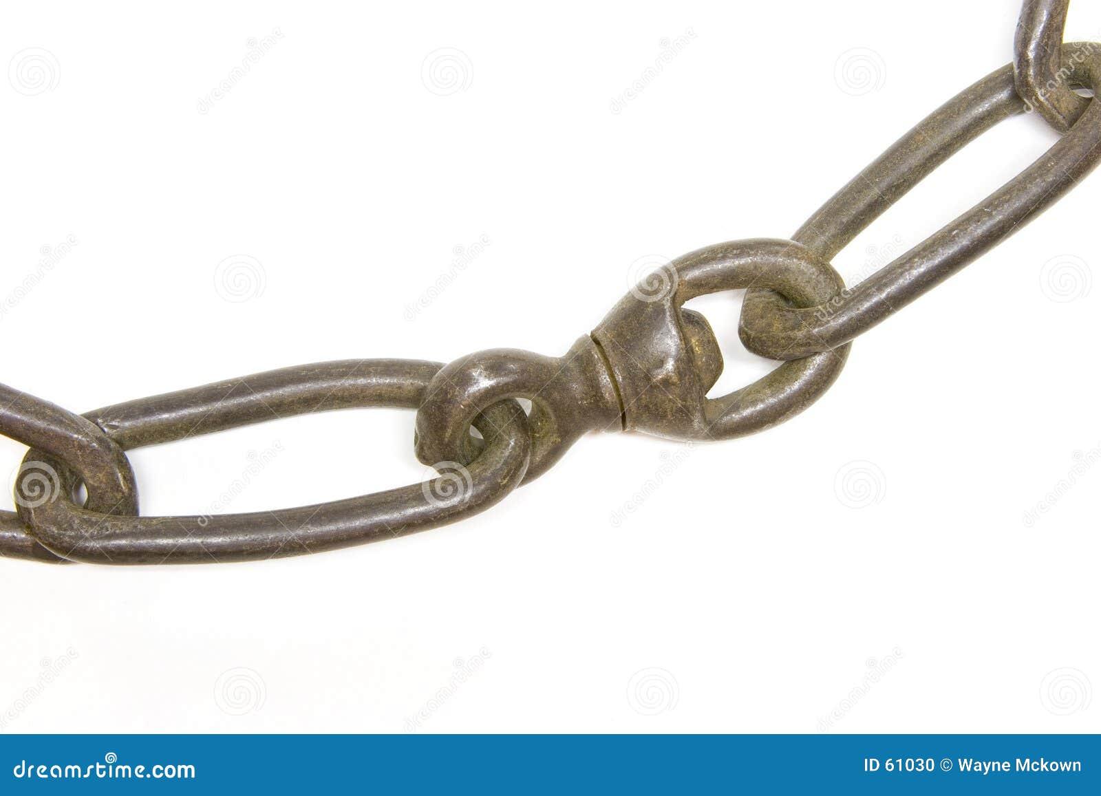 De ketting verbindt 2 met elkaar