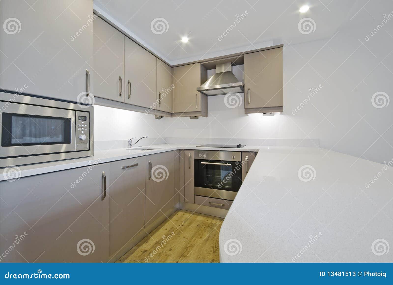 De Keuken Van De Luxe Stock Foto's - Afbeelding: 13481513