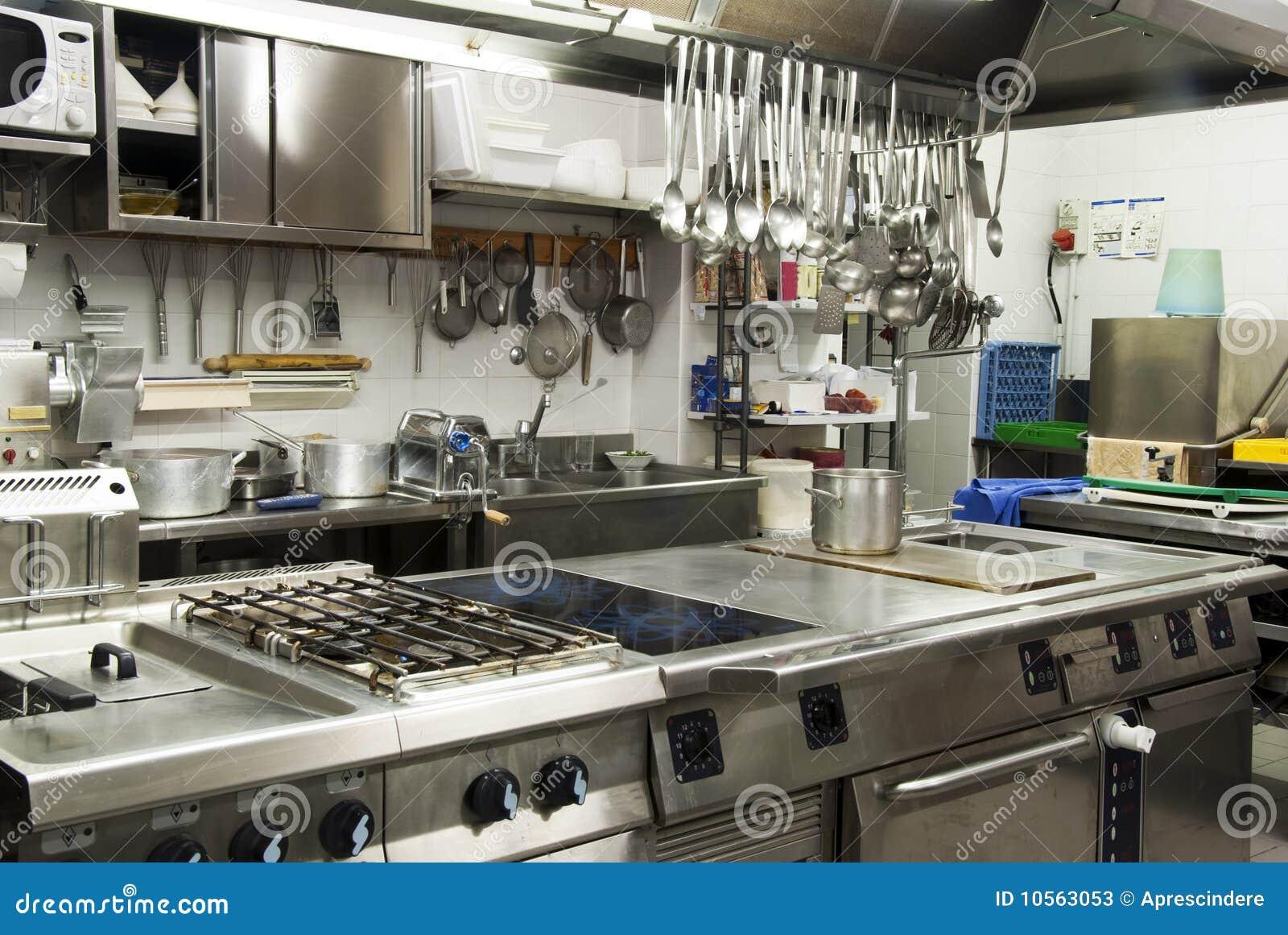 Moderne Keuken Restaurant : Hotel Restaurant Kitchen