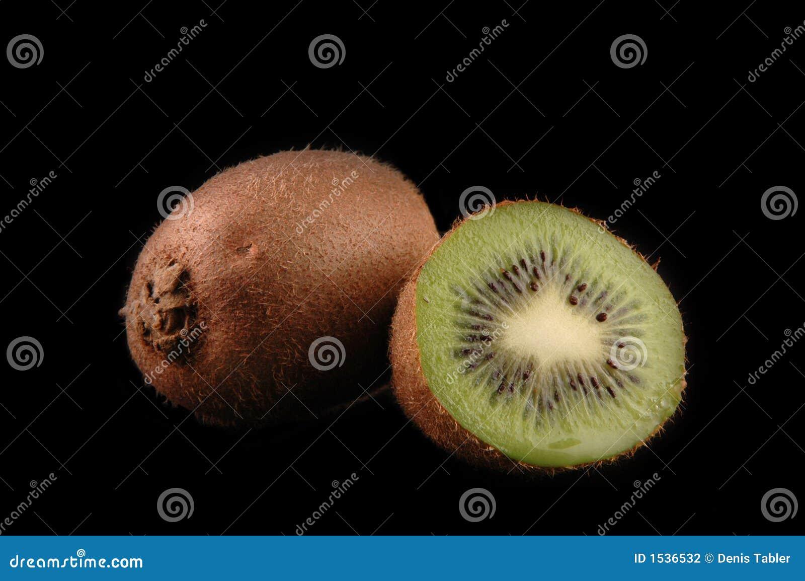 De kiwi dichte omhooggaand van Cuted