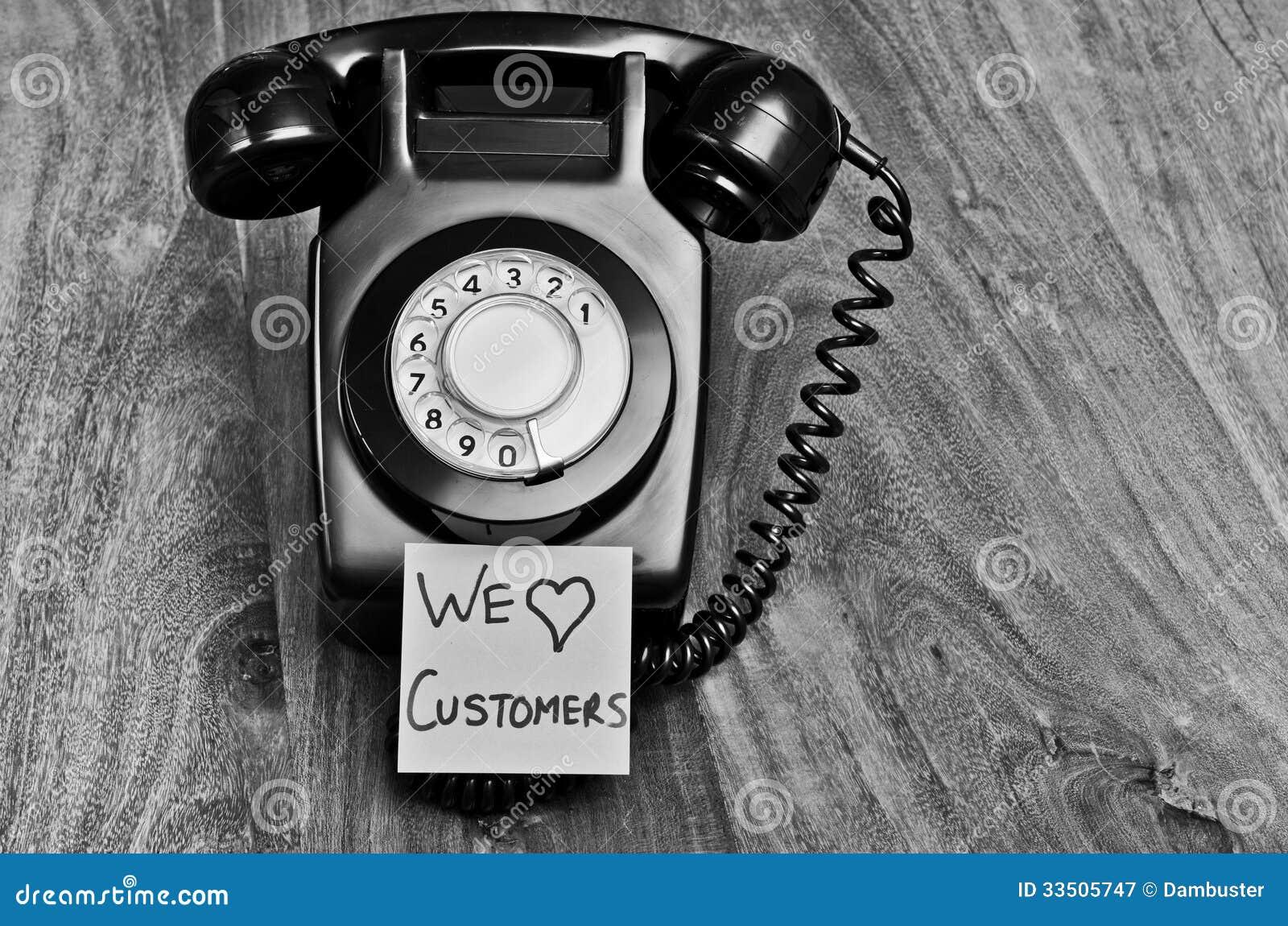 De klantendienst