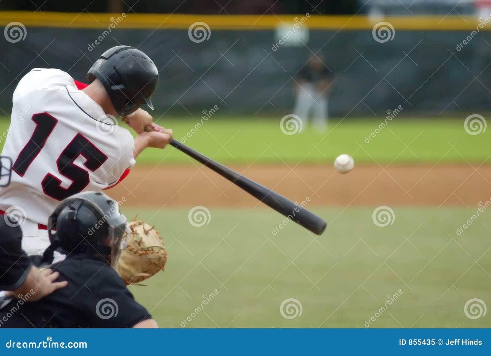 De Klap van het honkbal!