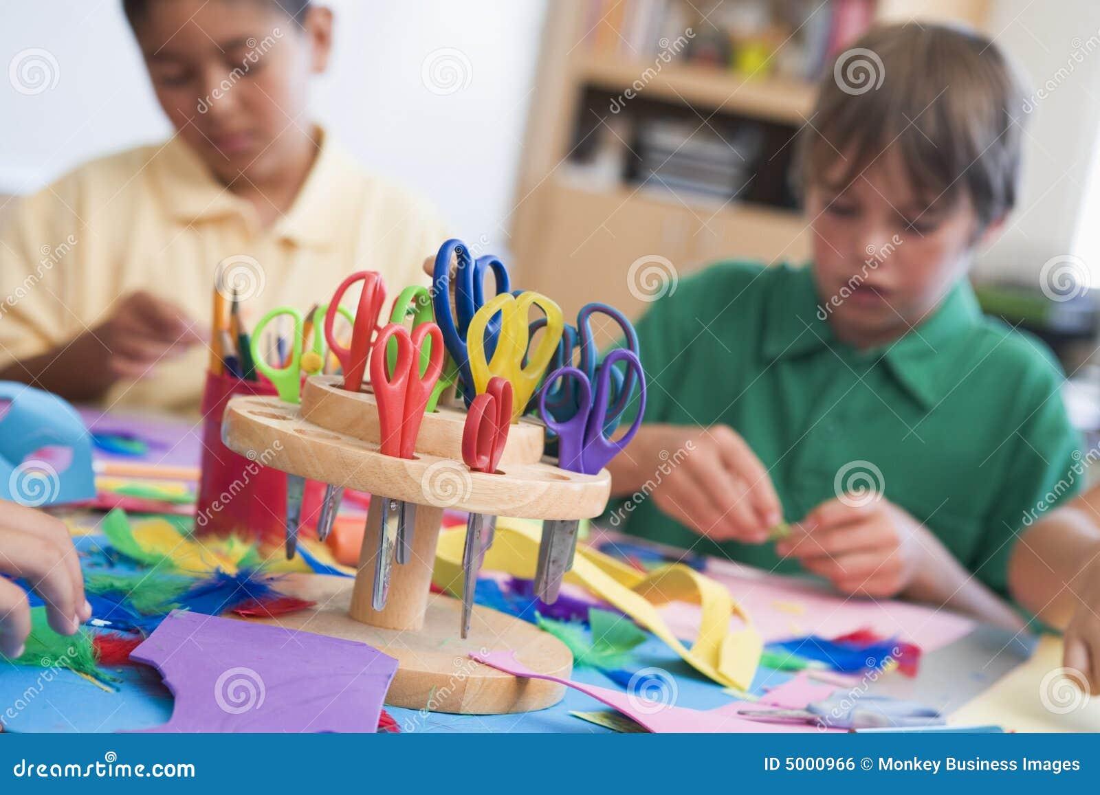 De klasse van de basisschoolkunst