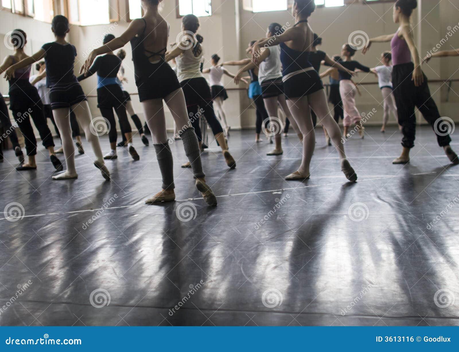 De Klasse van het ballet