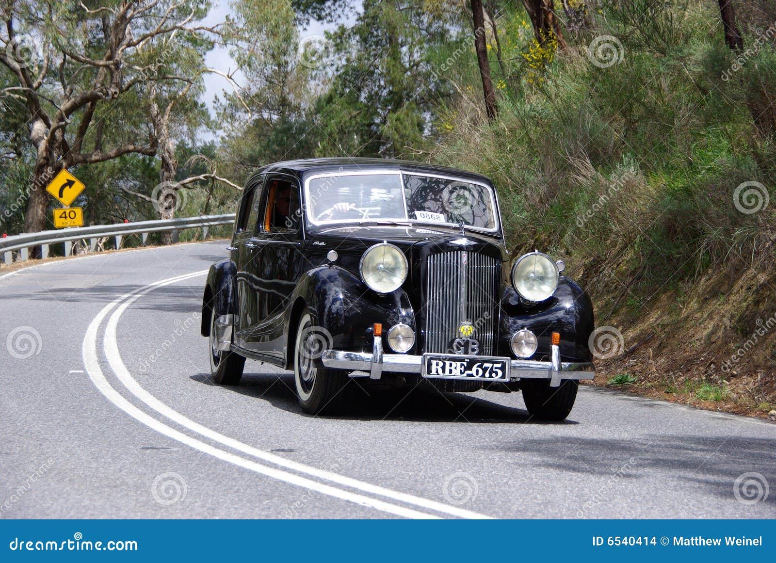 De klassieke Austin auto van de Sedan