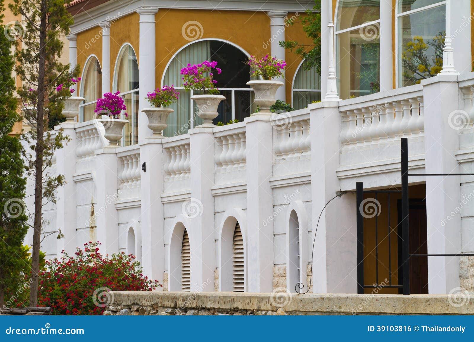 De klassieke bouw Bangkok Thailand