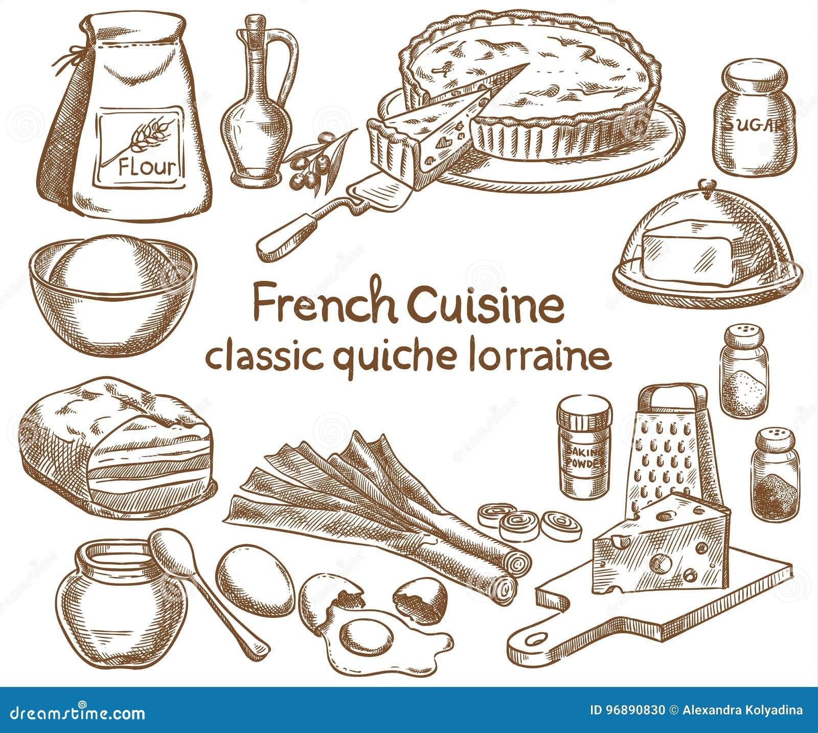 De klassieke ingrediënten van quichelotharingen