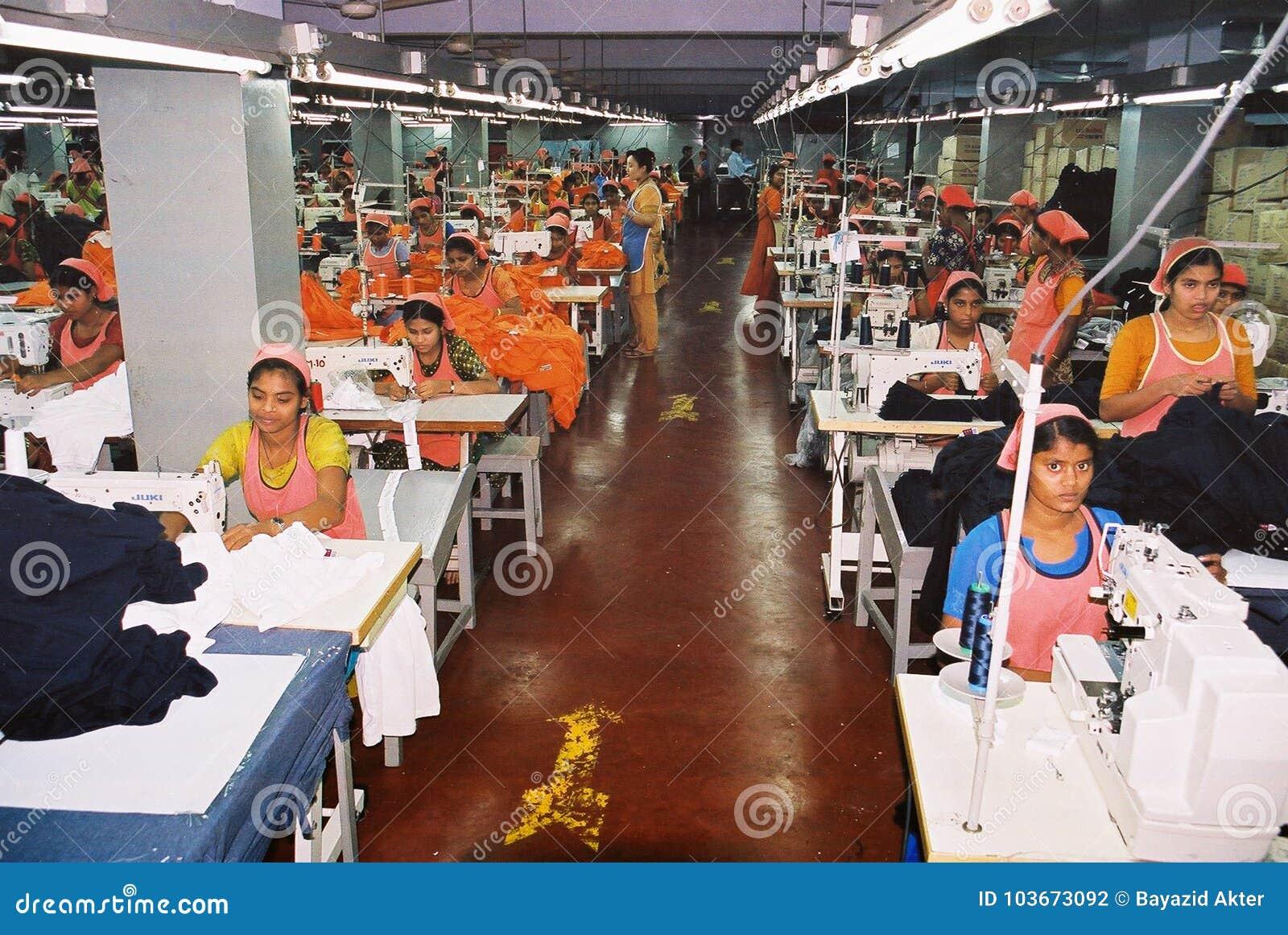 De kledingstukkenindustrie in Bangladesh