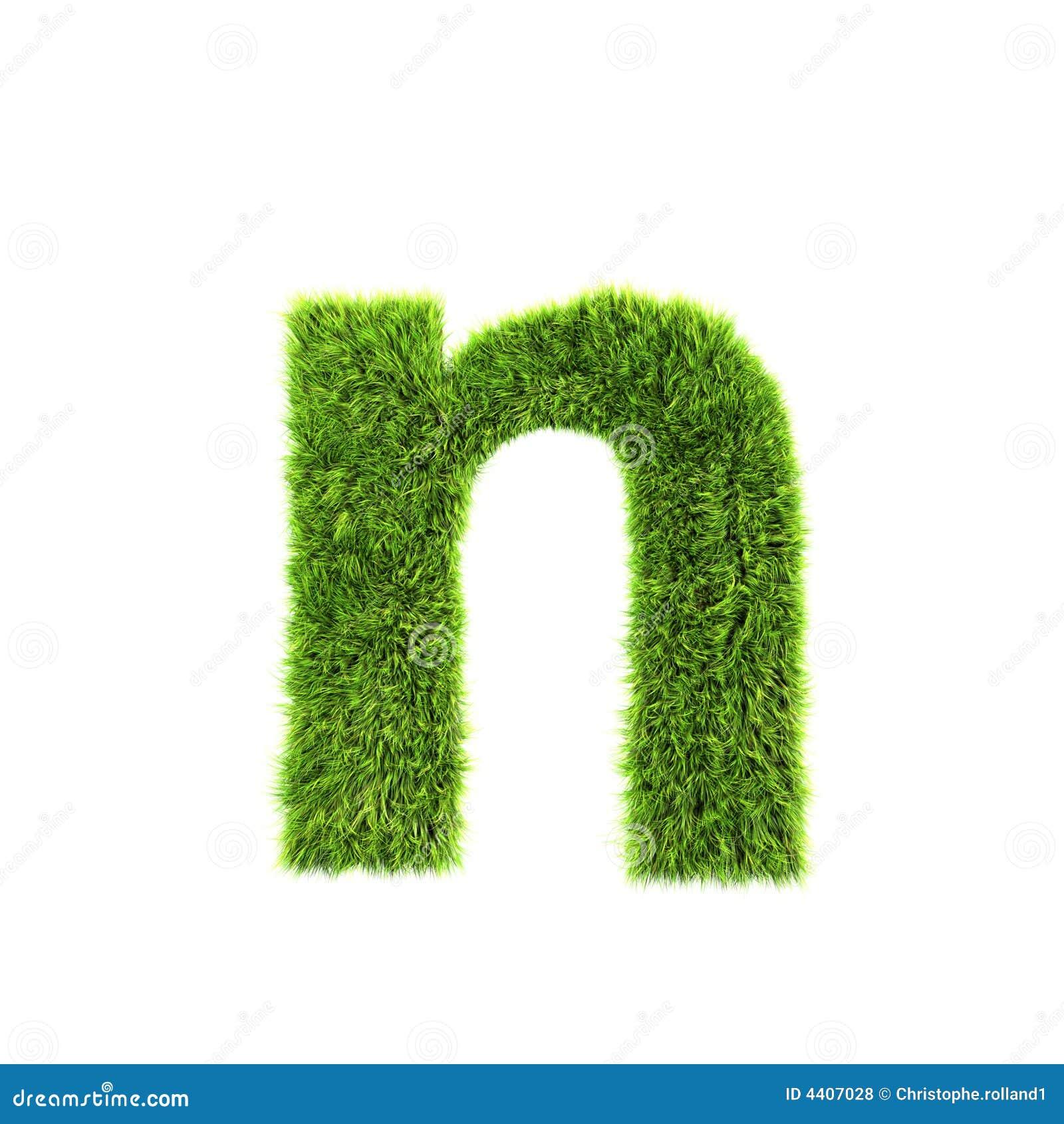 De kleine letter van het gras