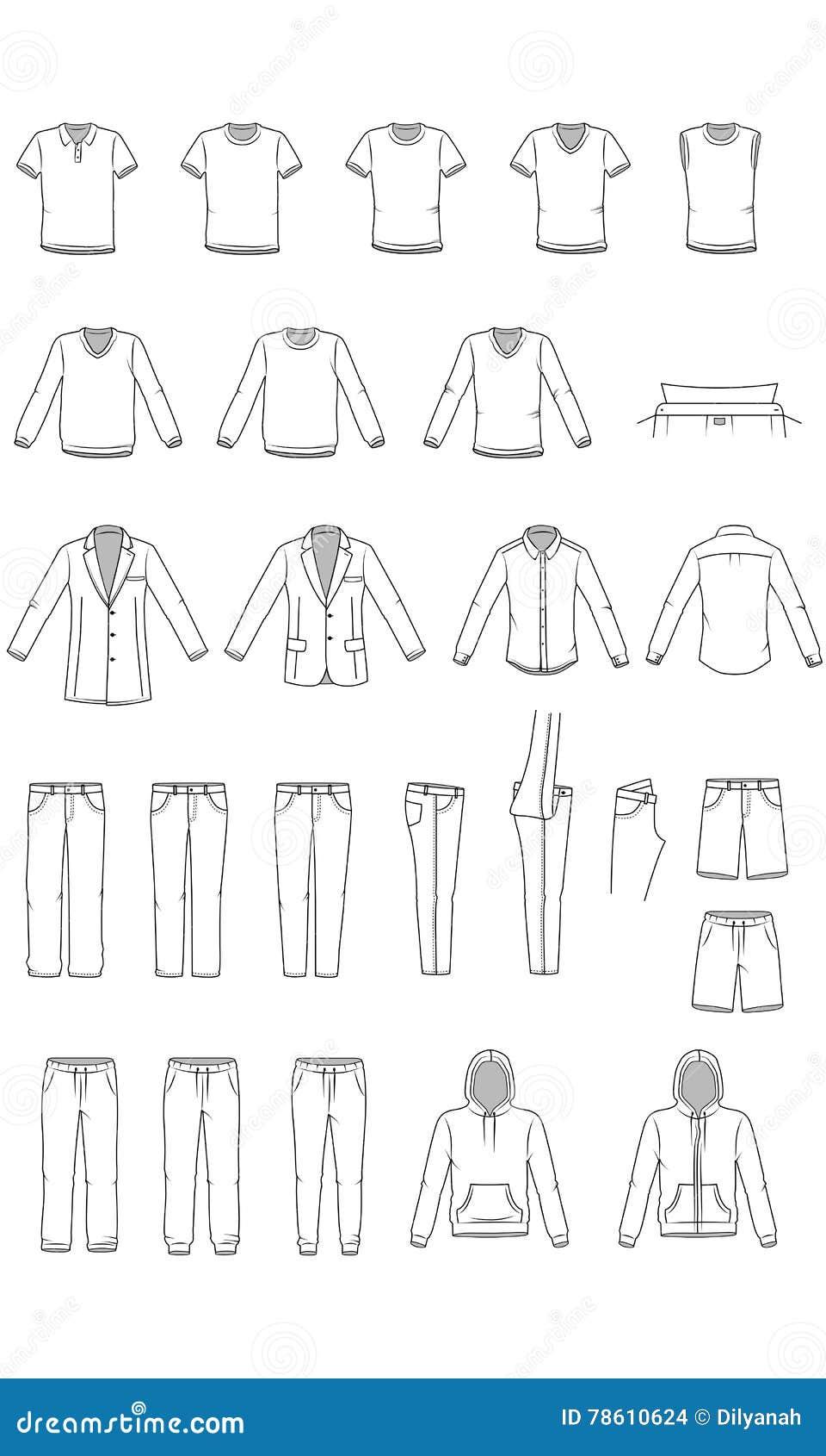 De kleren van mensen