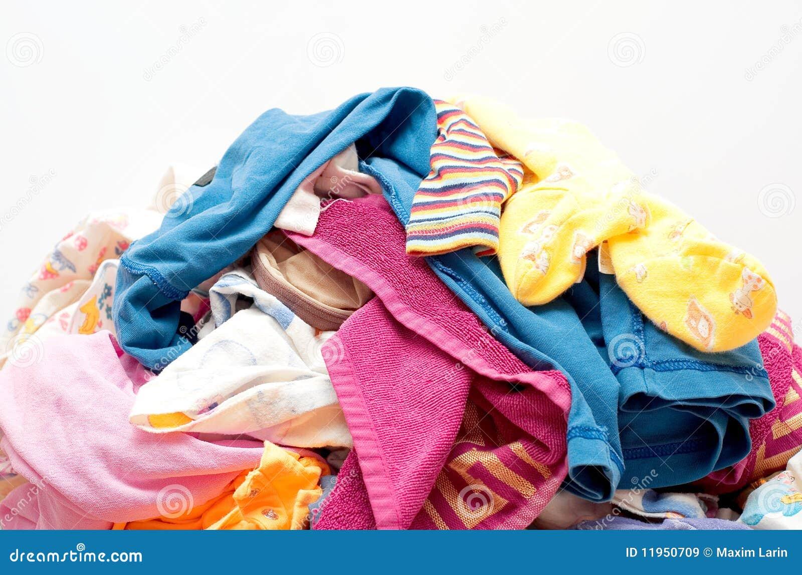 De klerenclose-up van de Was van de hoop