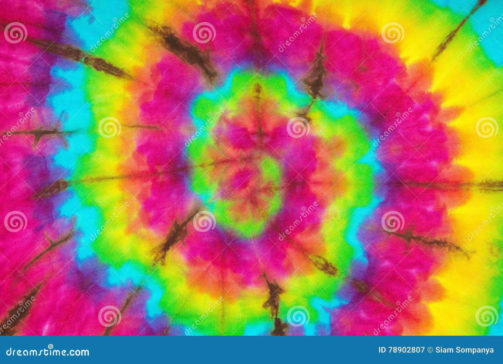 De Kleur van de bandkleurstof