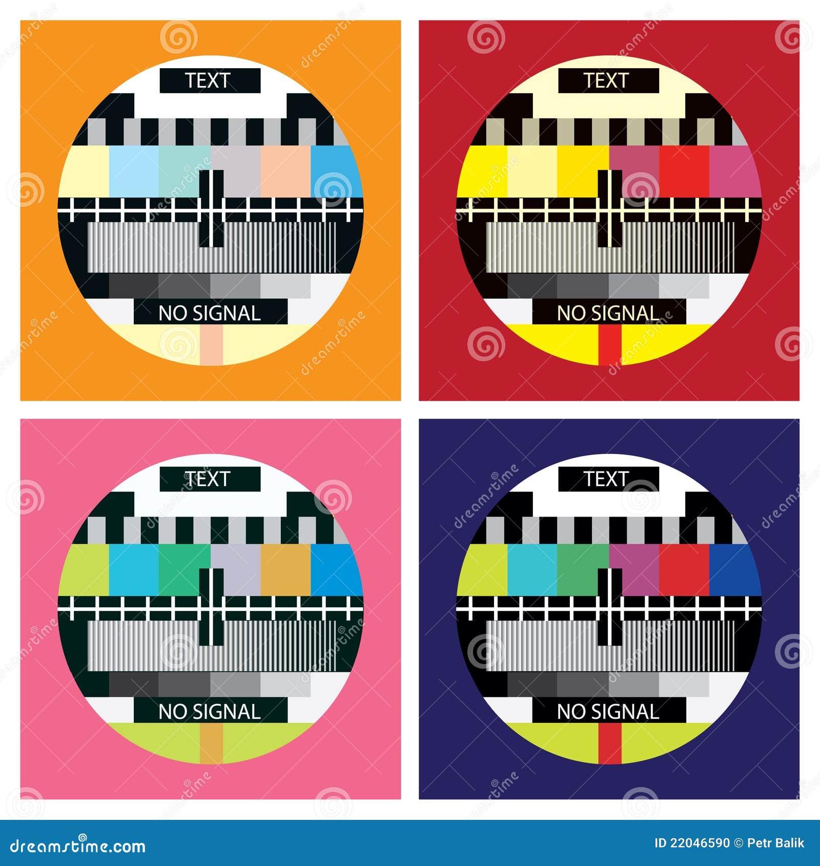 De kleurentest van TV