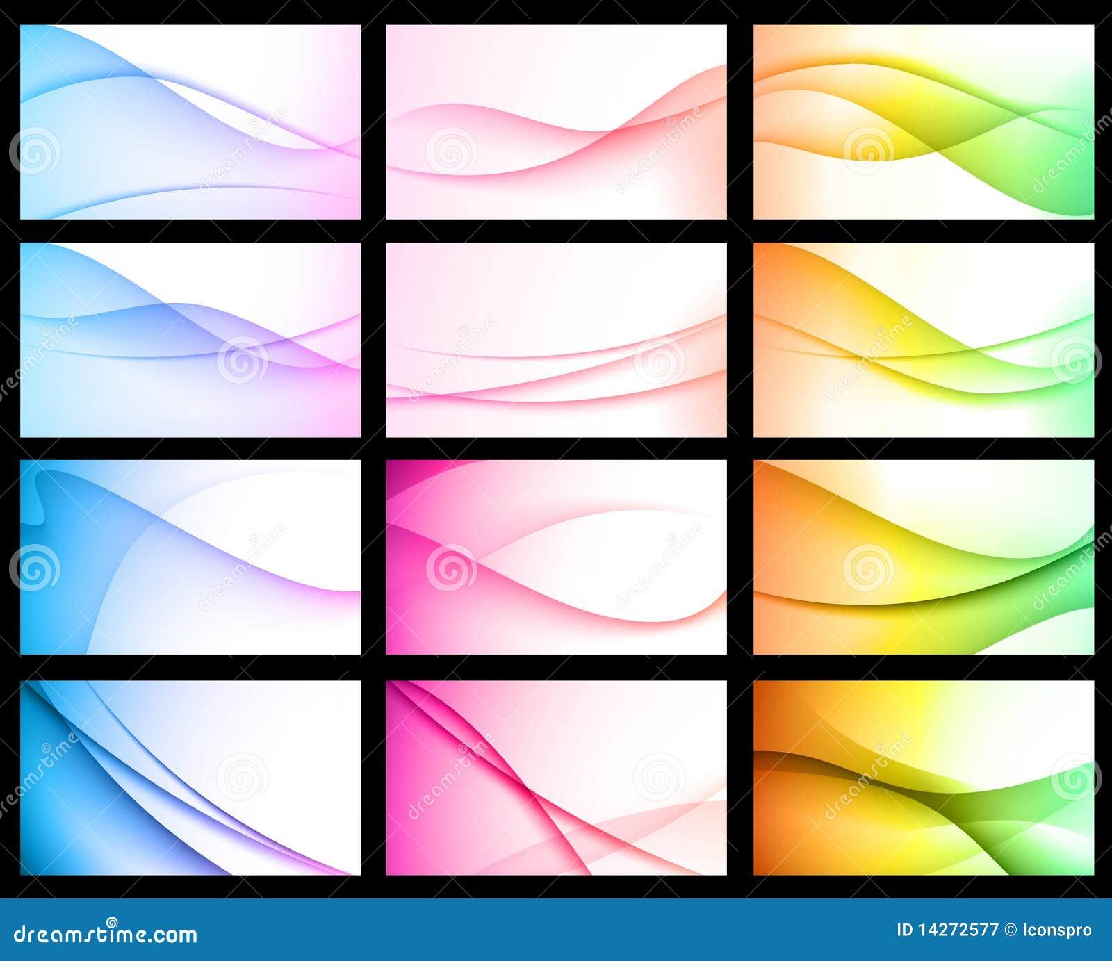 De kleurrijke Abstracte BloemenAchtergrond van de Golf