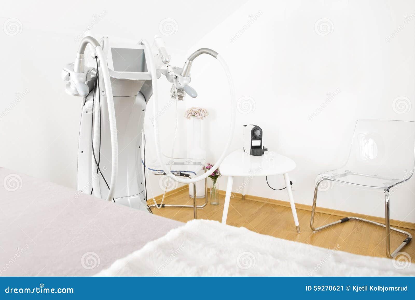 De kliniek van de lichaamsbehandeling met geavanceerd materiaal