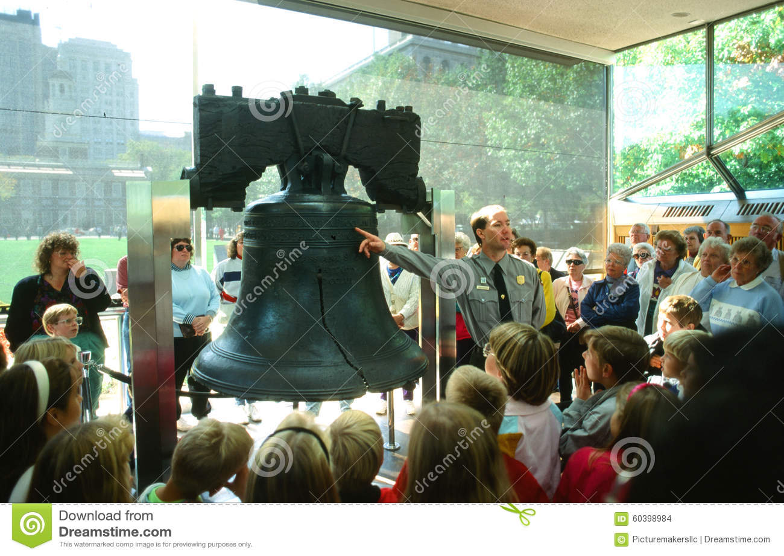 De Klok van de vrijheid, Philadelphia, Pennsylvania