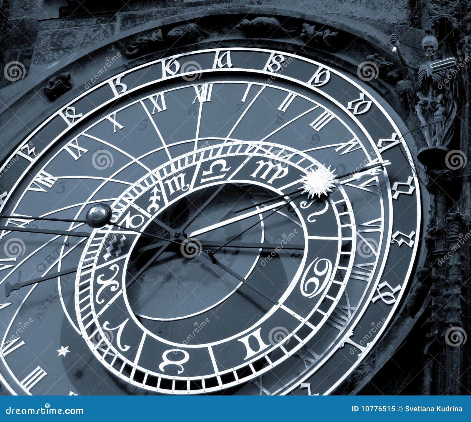 De klok van Orloy - symbool van Praag.