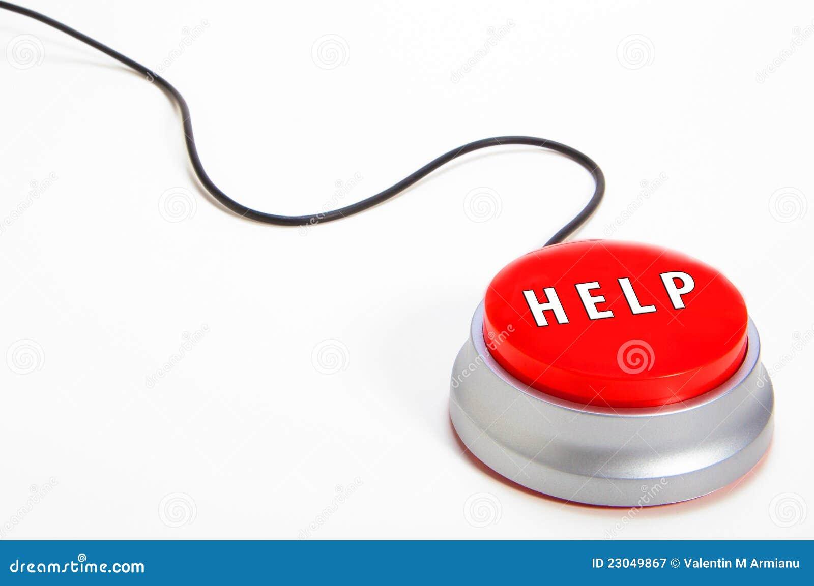 De knoop van de hulp