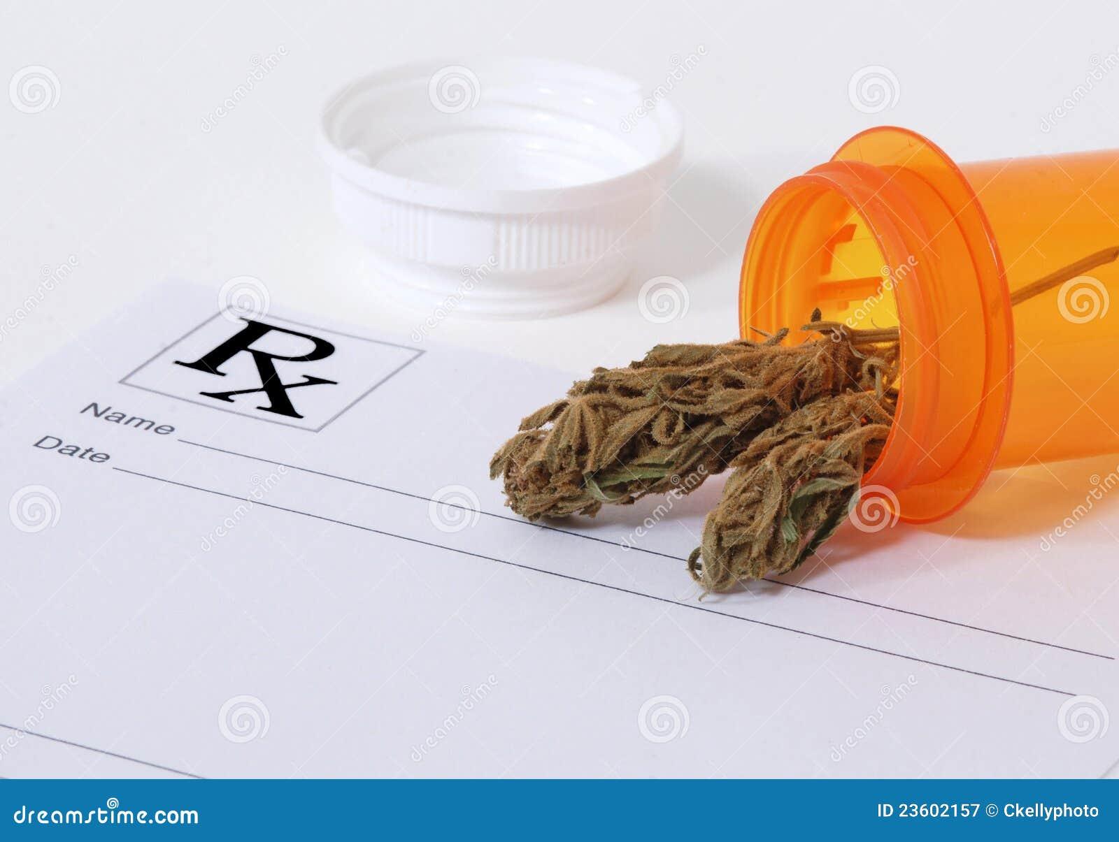 De knop van de cannabis