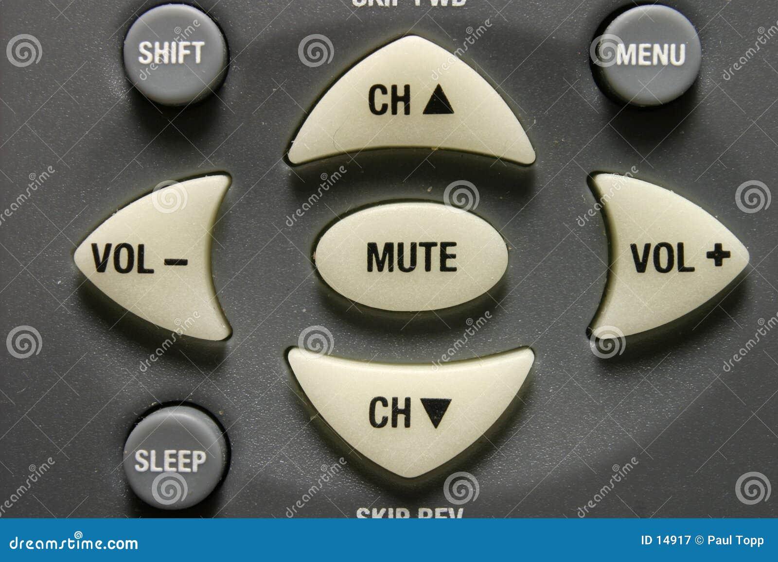 De Knopen van de afstandsbediening