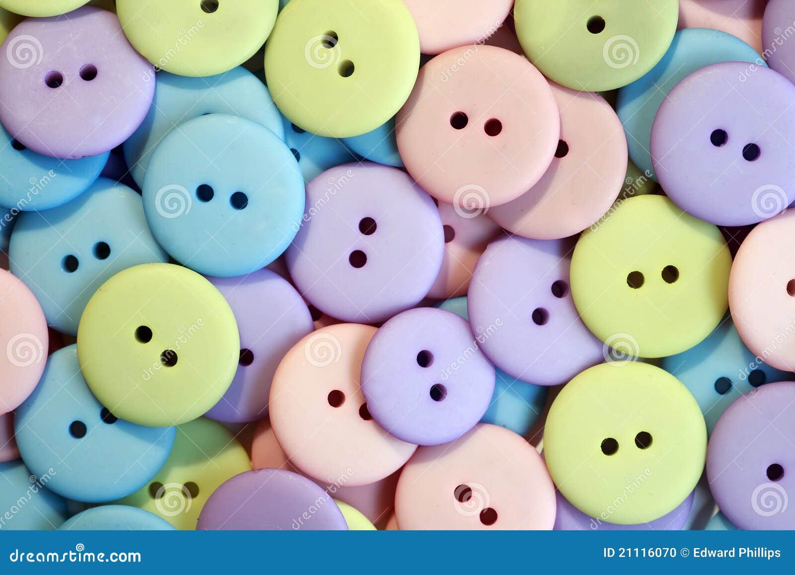 De Knopen van de pastelkleur