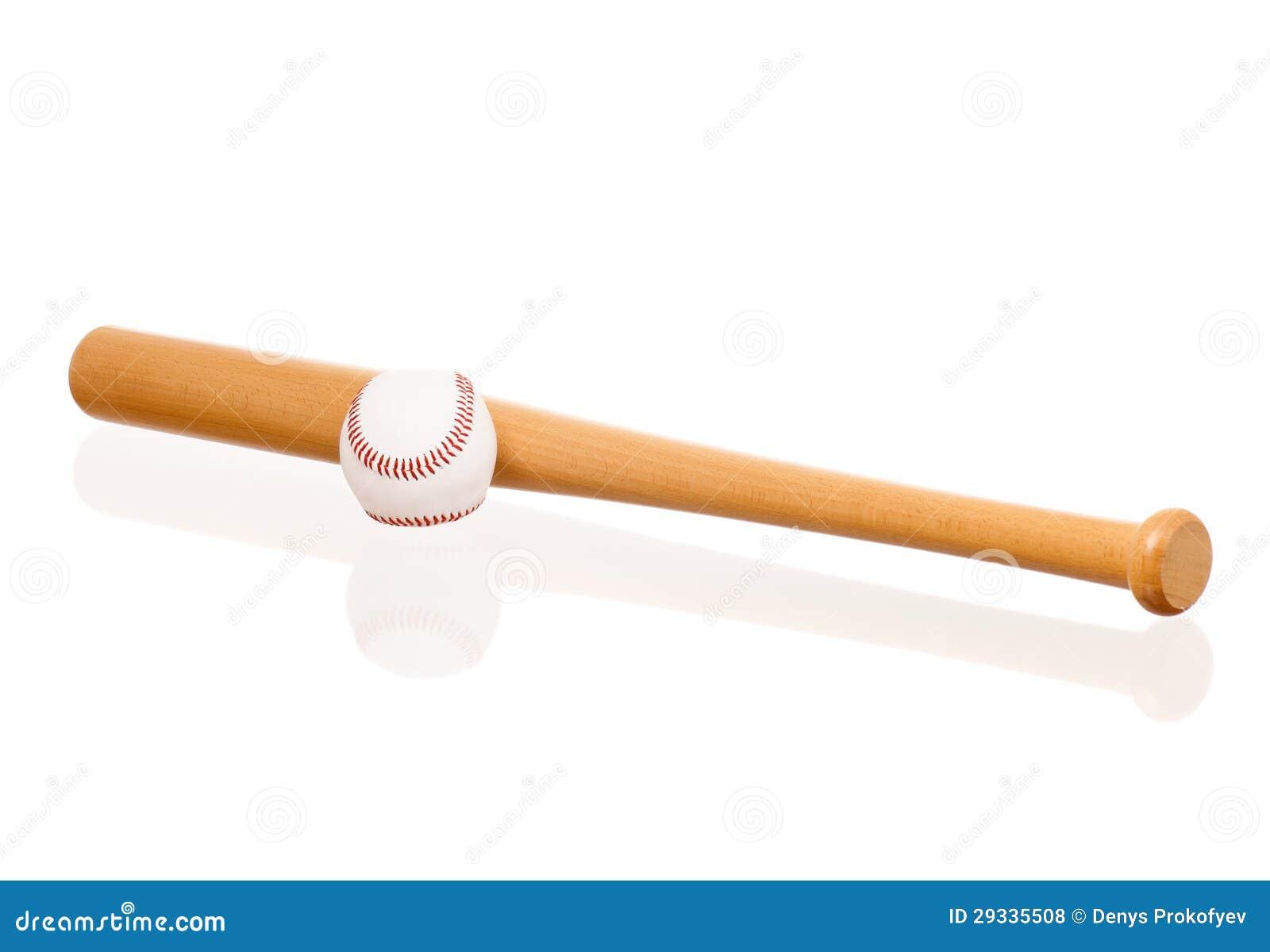 De knuppel en de bal van het honkbal stock foto afbeelding 29335508 - Sterke witte werpen en de bal ...