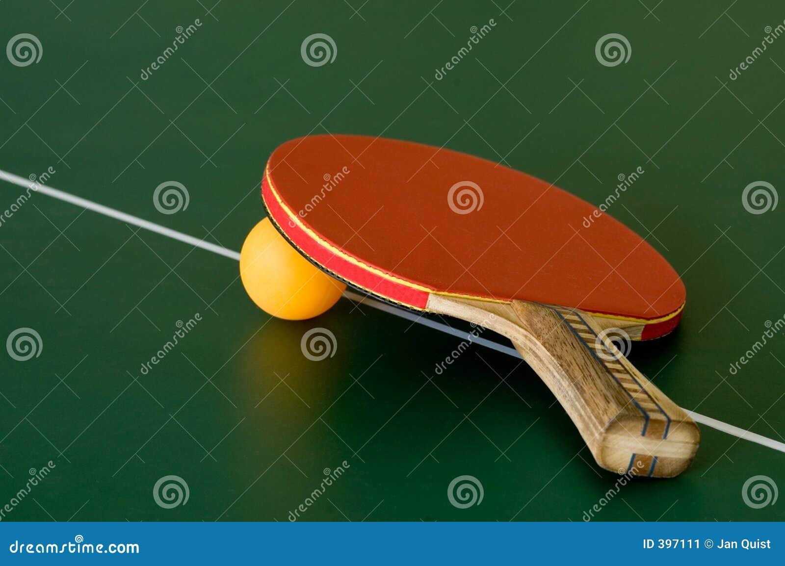 De knuppel van het pingpong
