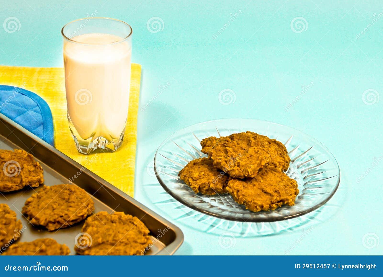 De koekjes en de Melk behandelen