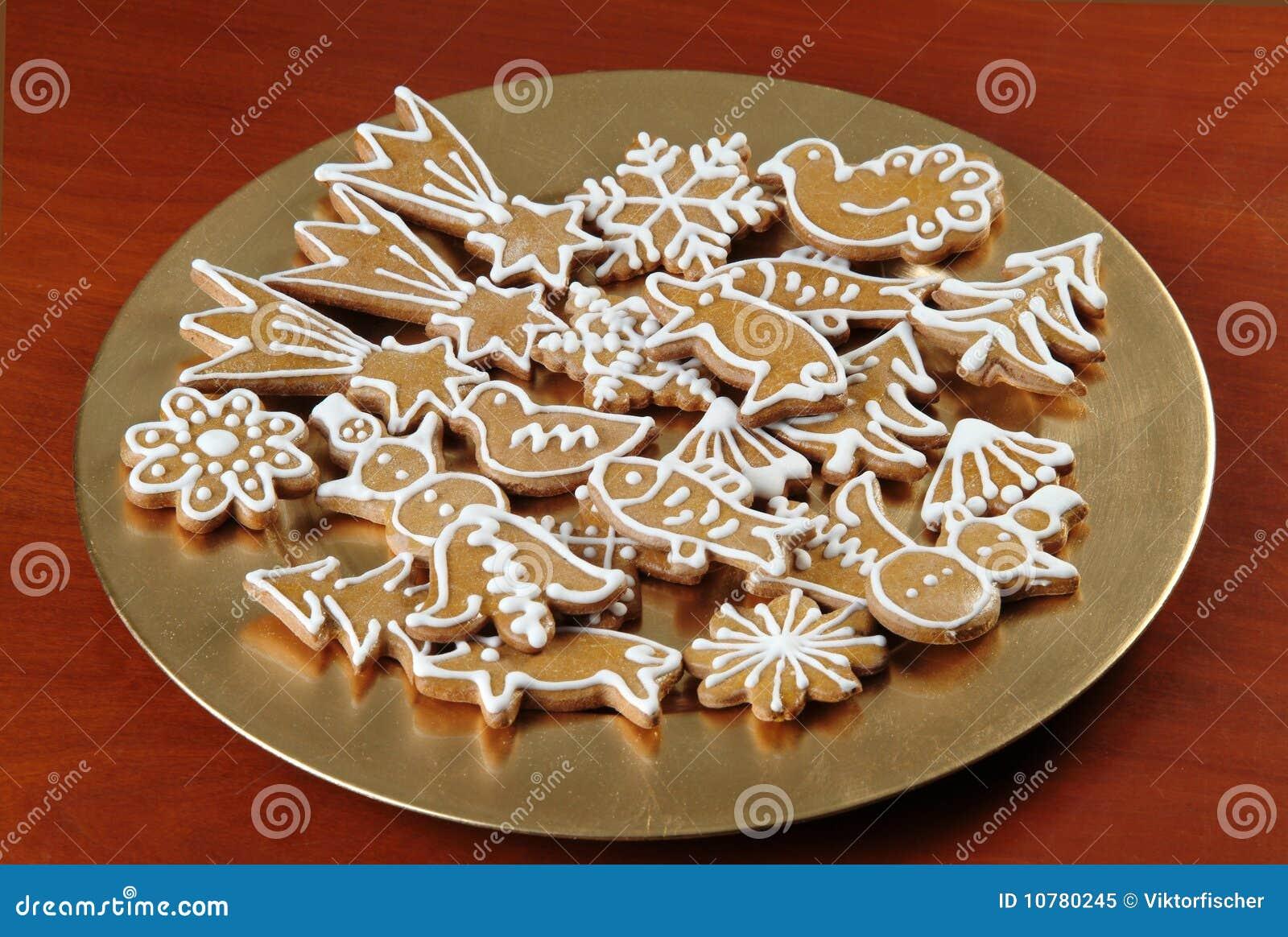 De Koekjes van de Peperkoek van Kerstmis