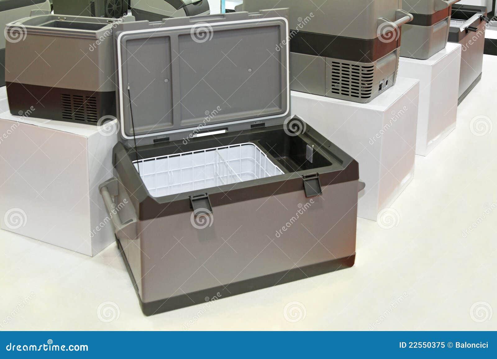 De koelkast van de vrachtwagen