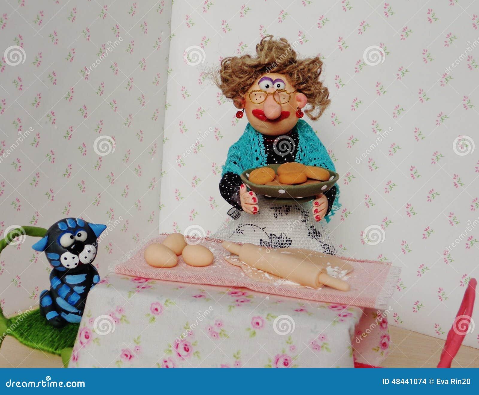 De kokende koekjes van de marionettenoma