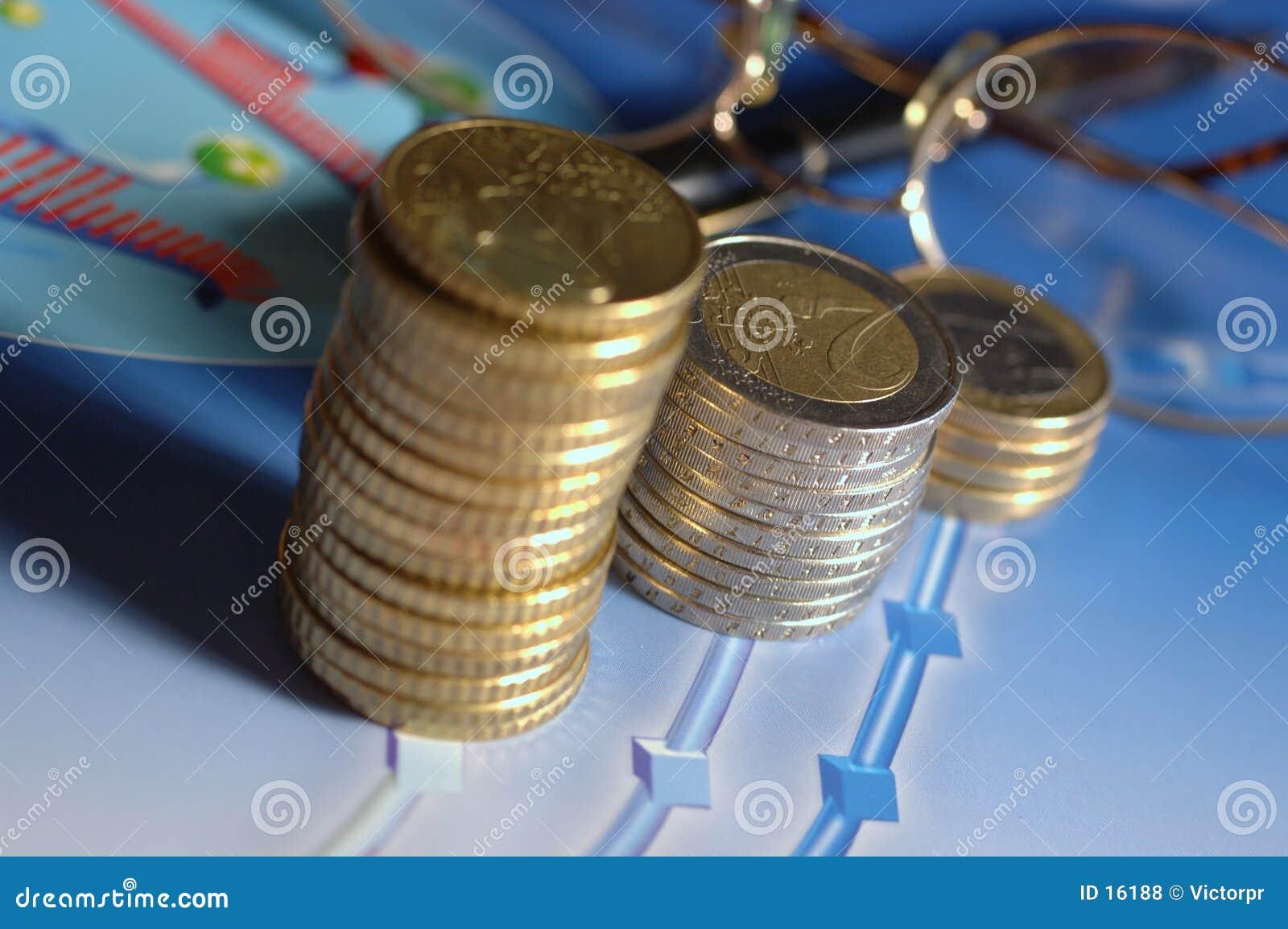 De kolommen van het geld