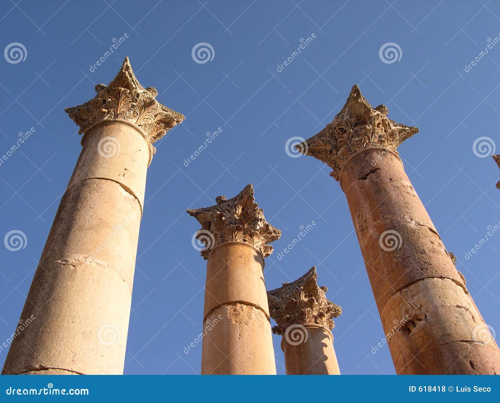 De kolommen van Jerash