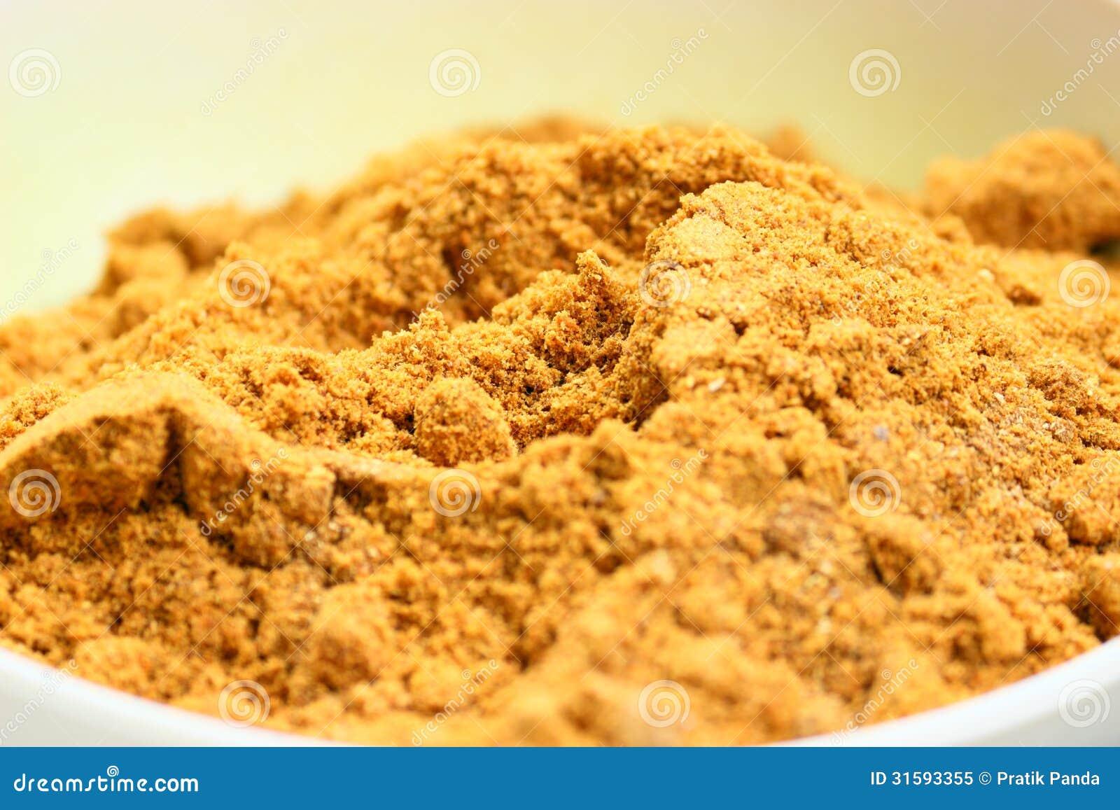 De kom van de kurkumamacht, Indische kruiden